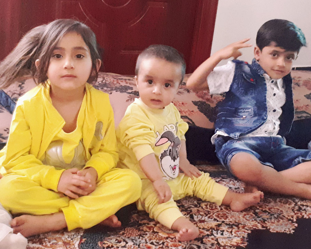 From left (Abeer, Sohaib and Shais)